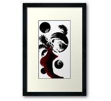 Black Moons Framed Print