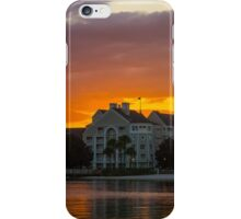 Disney's Yacht Club Resort at Sunset iPhone Case/Skin