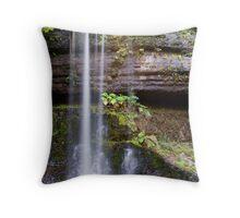 Russell Falls - Mt Field National Park Throw Pillow