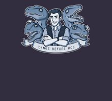 Dinos Before Hos (monochrome blue) Unisex T-Shirt