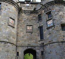 Falkland Palace entrance, Scotland by BronReid