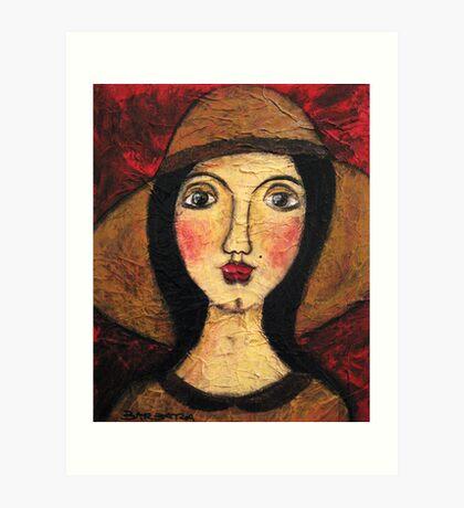 Mrs Brown Art Print
