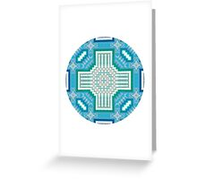 celtic clouds Greeting Card