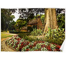 Captain Cooks Cottage - Melbourne Poster