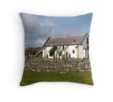Lunna Kirk, Shetland Throw Pillow