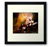 I will wrap you in cold... Framed Print