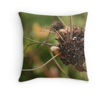 Alien Nest Throw Pillow