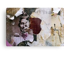 found collage RB43 Metal Print