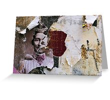 found collage RB43 Greeting Card