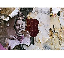 found collage RB43 Photographic Print
