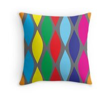 HAPPY PANTS WAVES Throw Pillow