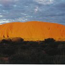 Uluru Sunset by Matthew Walmsley-Sims
