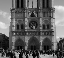 Notre Dame Paris  by Jenna Bussey