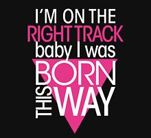 GAGA - BORN THIS WAY (PINK - CLEAR) Unisex T-Shirt