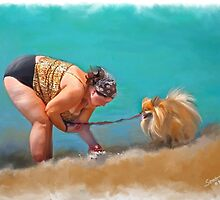 The wrong Dog... by Sandra Guzman