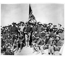 Teddy Roosevelt And The Rough Riders Poster