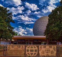 Welcome to Epcot - Spaceship Earth by jjacobs2286