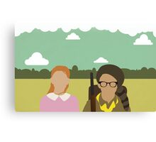 Moonrise Kingdom - Wes Anderson  Canvas Print