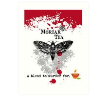 Moriar Tea 1 Art Print