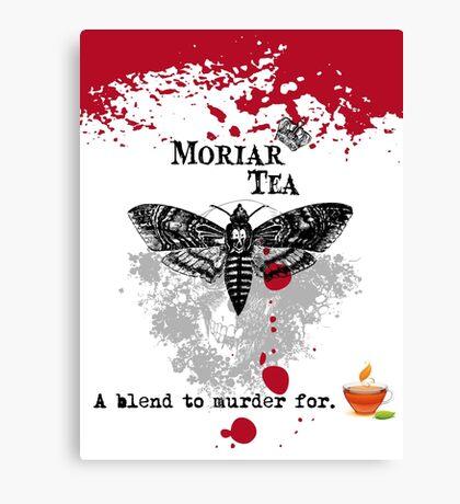 Moriar Tea 1 Canvas Print