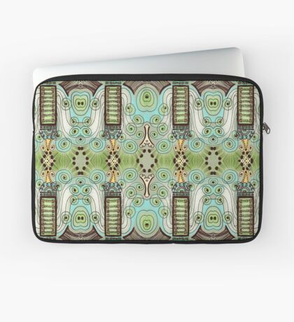 Belle Epoque Pattern Laptop Sleeve