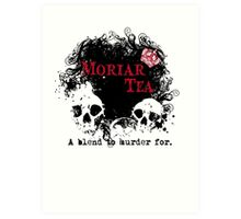 Moriar Tea 2 Art Print