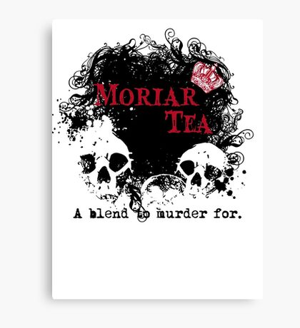 Moriar Tea 2 Canvas Print
