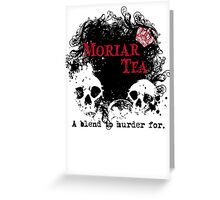 Moriar Tea 2 Greeting Card