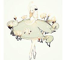 lilypad ballet. Photographic Print