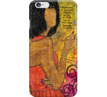 The Wise Lady Who Lives Next Door iPhone Case/Skin