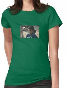 little indian Womens Fitted T-Shirt