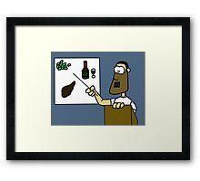 Hannibal Lecture Framed Print