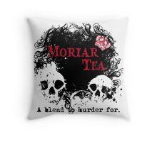 Moriar Tea 2 Throw Pillow