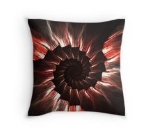 Blood on the Stairs Throw Pillow