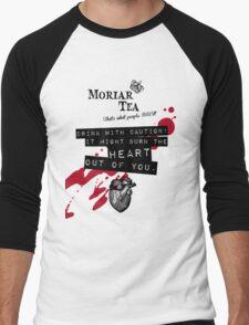 Moriar Tea Drink carefully Men's Baseball ¾ T-Shirt