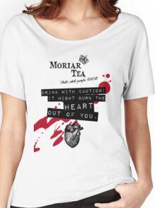 Moriar Tea Drink carefully Women's Relaxed Fit T-Shirt