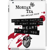 Moriar Tea Drink carefully iPad Case/Skin