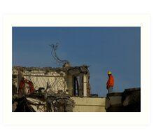 Demolition Man Art Print