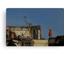 Demolition Man Canvas Print