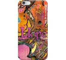 Lady of HOPE - A Breast Cancer Donation iPhone Case/Skin