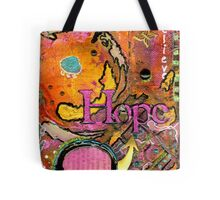 Lady of HOPE - A Breast Cancer Donation Tote Bag