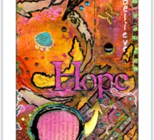 Lady of HOPE - A Breast Cancer Donation Sticker