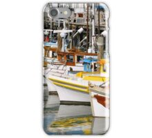 Colorful Tugs in a Row iPhone Case/Skin