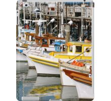 Colorful Tugs in a Row iPad Case/Skin