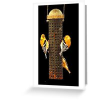 Gold Mine Greeting Card