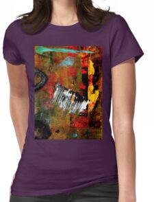 Seeing THE LIGHT at The End Womens Fitted T-Shirt