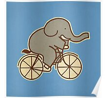 Elephant Cycle Poster