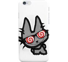 Kitty's Fun Hypno Glasses iPhone Case/Skin