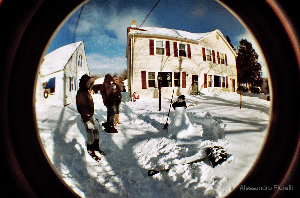 SnowMan by Alessandro Florelli
