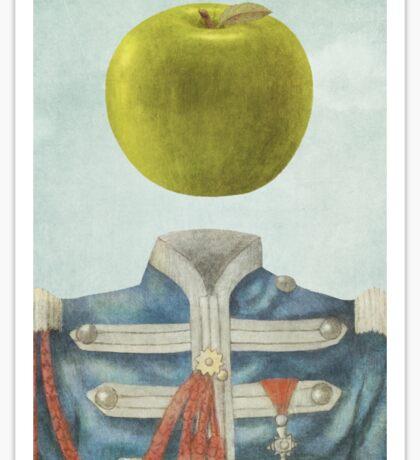 Sgt. Apple  Sticker